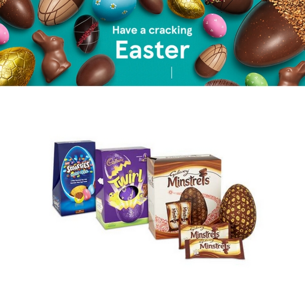 11sofz2rwsdmo6itescoeastereggsg get your large easter eggs on the 3 for 10 deal in store at tesco until 2 april and save this easter the offer includes mars quality street negle Images