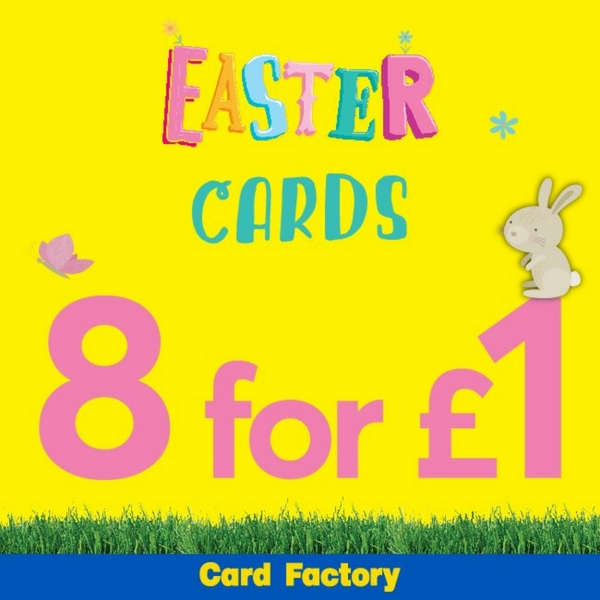 Homepage chesterfield pavements shopping centre easter savings at card factory negle Images