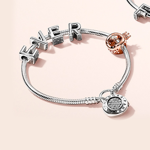 Express yourself in words at PANDORA