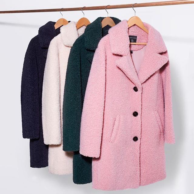 Love is a DP Teddy Coat