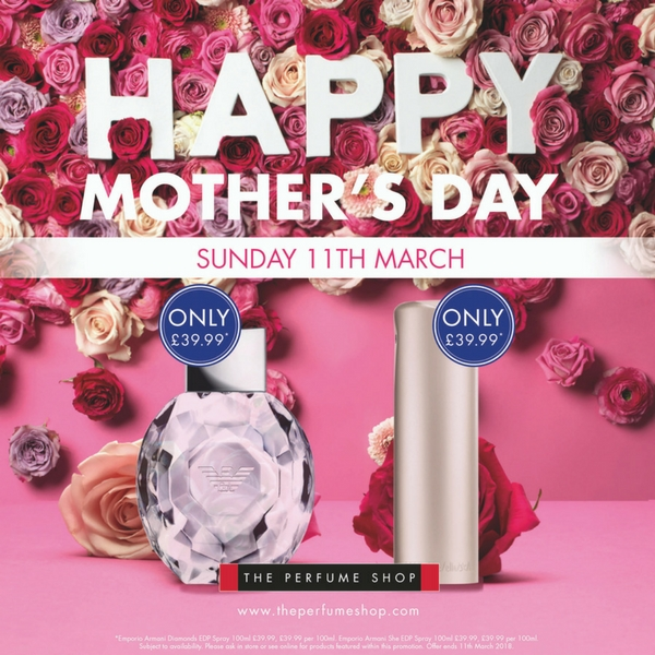 The Perfume Shop has Mother's Day sorted