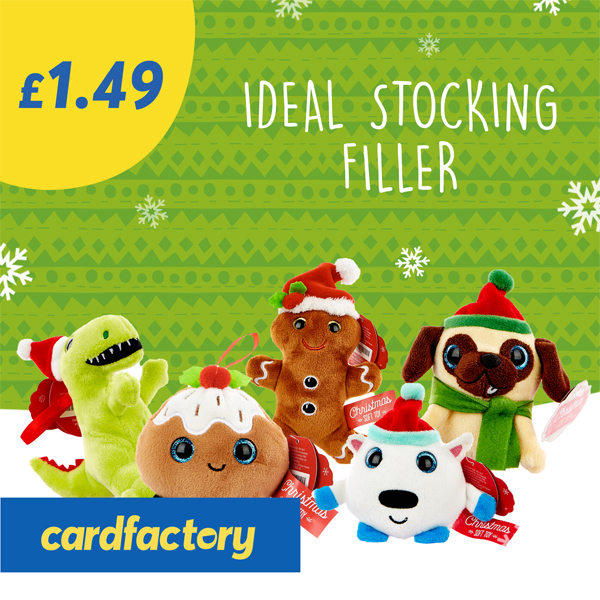 Fill up from £1.49 at Card Factory