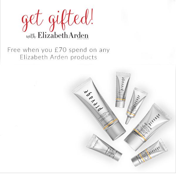 Elizabeth Arden's free gift is at Debenhams