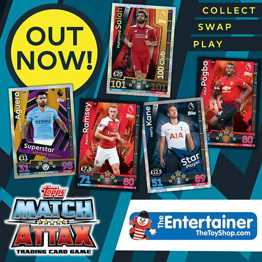 Match Attax madness at The Entertainer