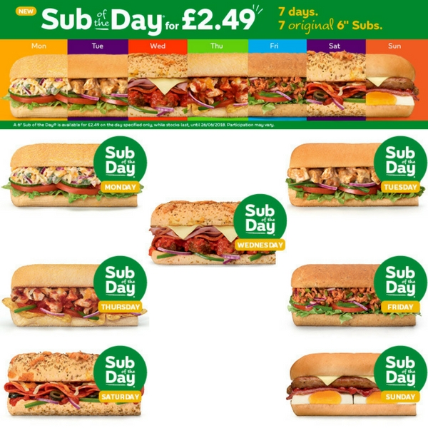 Sub of the Day at Subway