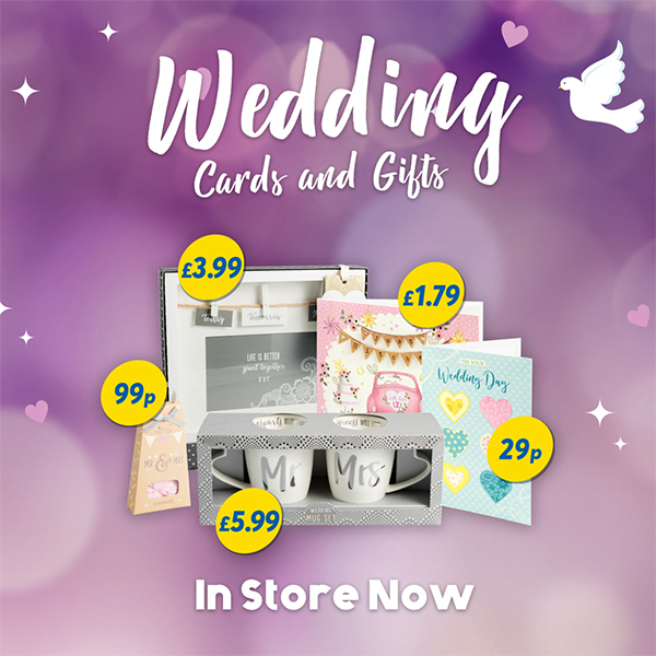 Shop Card Factory's Wedding Collection