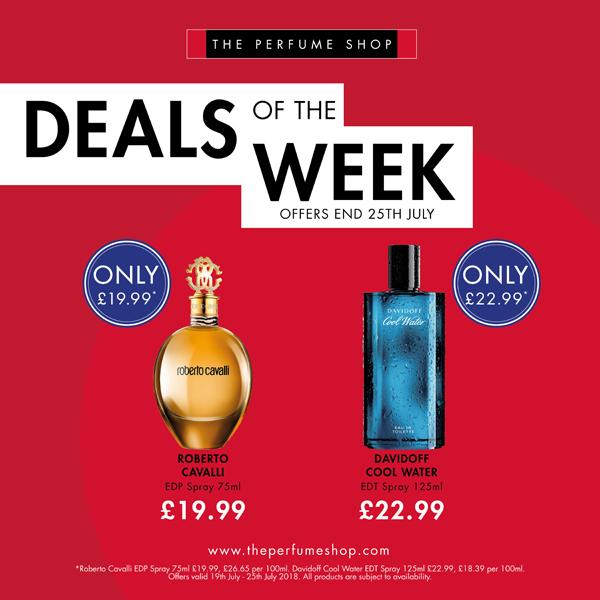 Deals at The Perfume Shop