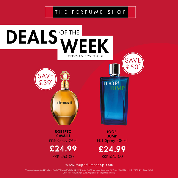 Amazing deals at The Perfume Shop
