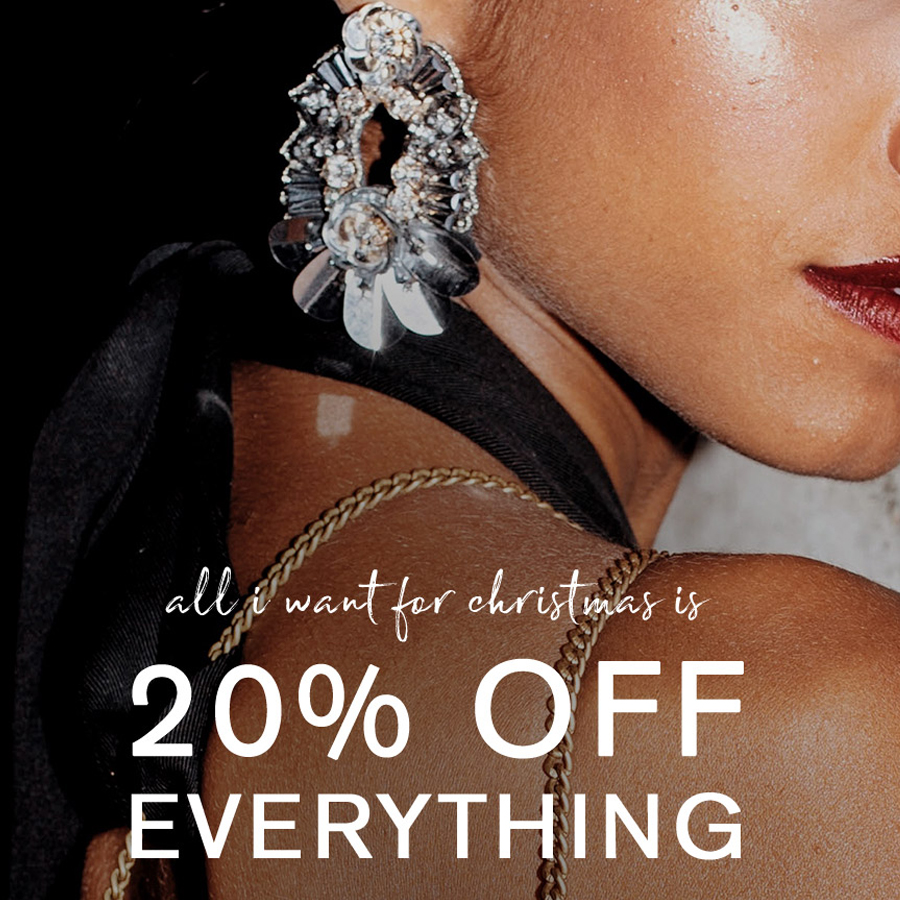 Everything is 20% off at Accessorize