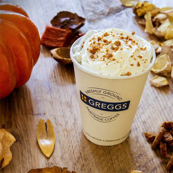 Try Greggs' Pumpkin Spice Latte