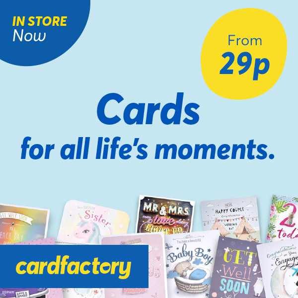 Salute special moments at Card Factory