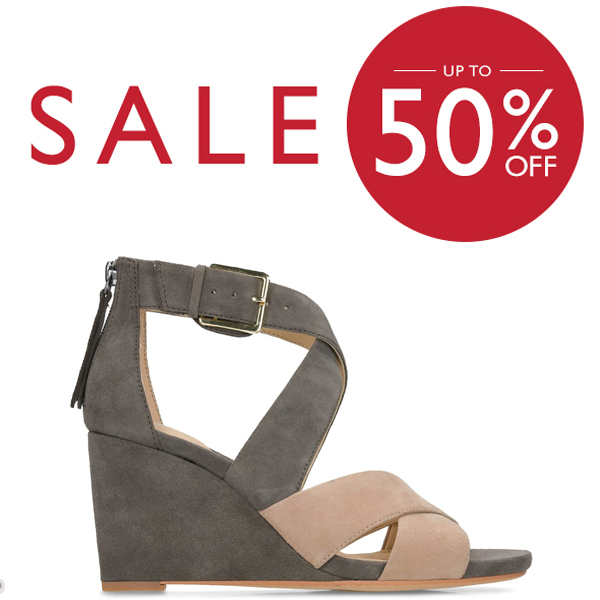 The Clarks Summer Sale is on