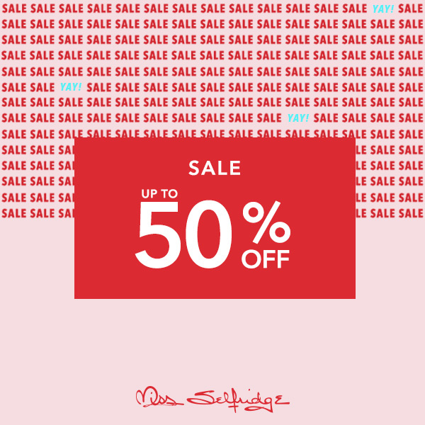 Style up at the Miss Selfridge Sale
