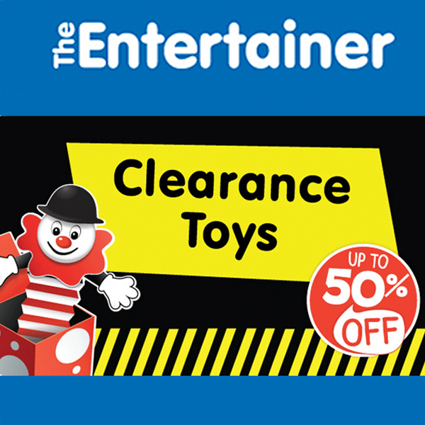 Clear up at The Entertainer