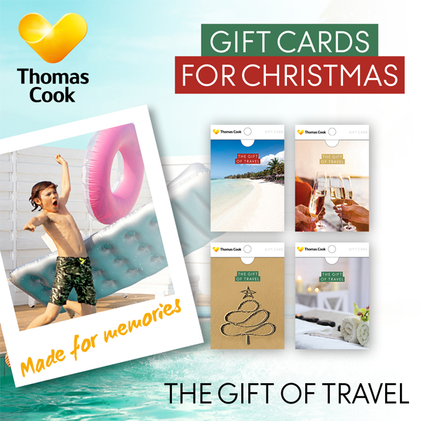 Give a Thomas Cook Gift Card