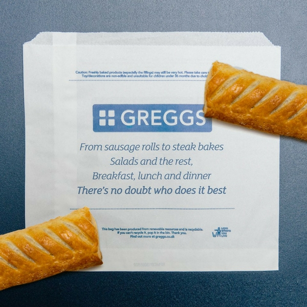 Satisfy your hunger at Greggs